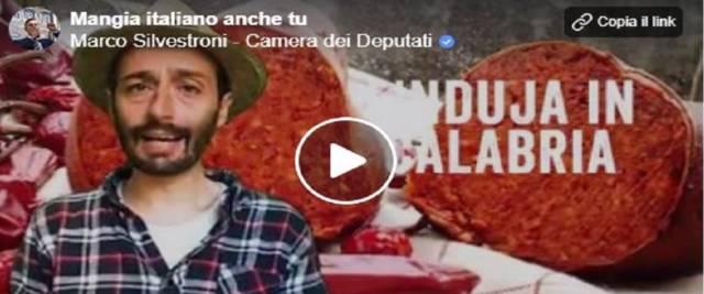 Cibo italiano e video dalla pagina Facebook di Silvestroni