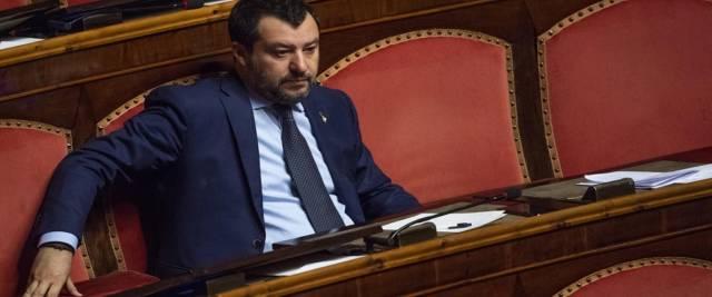 Matteo Salvini foto Ansa