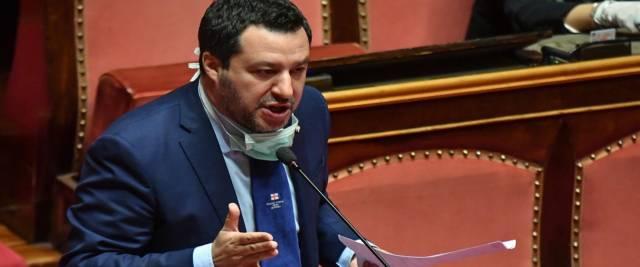 Salvini foto Ansa