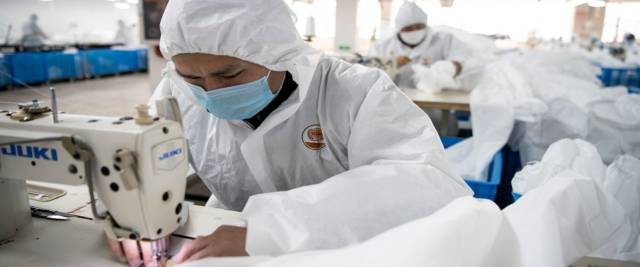 Coronavirus in Cina foto Ansa