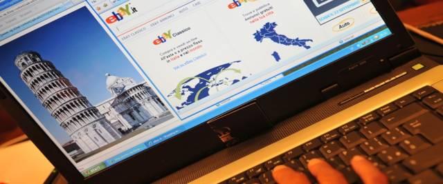 Italia sul computer foto Ansa