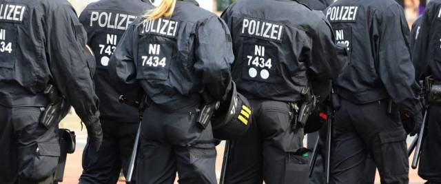 Polizia tedesca foto Ansa