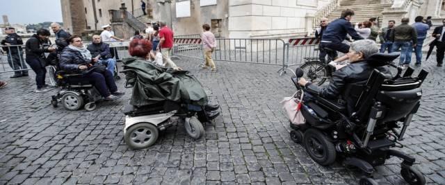 Disabili foto Ansa