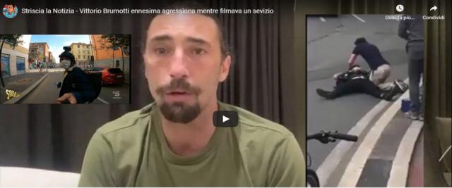 Brunotti frame da un video postato su Youtube