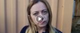 Giorgia Meloni frame da video della sua pagina Facebook