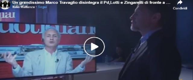 ravaglio in un video dalla pagina Facebook Italia Mattanza