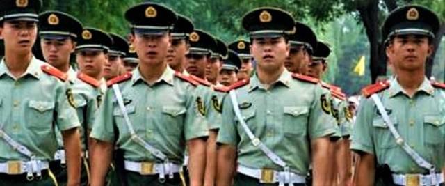 esercito cinese hong kong