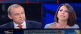 scontro De Girolamo-Licheri a Non è l'Arena frame da video su Youtube
