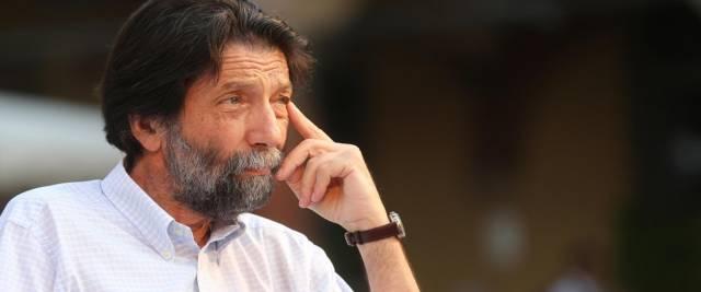 Il filosofo ed ex sindaco di Venezia, Massimo Cacciari, foto Ansa