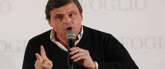 L'europarlamentare e leader di Azione Carlo Calenda foto Ansa