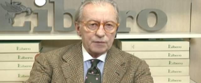 Vittorio Feltri foto Ansa