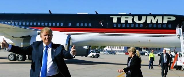 trump in aereo