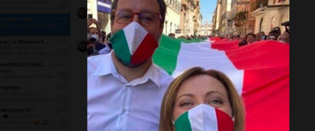Repubblica attaccherà Meloni e Salvini
