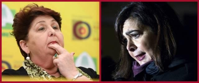 BeFunky-collage con foto Ansa della ministra Bellanova (a sinistra) e Laura Boldrini
