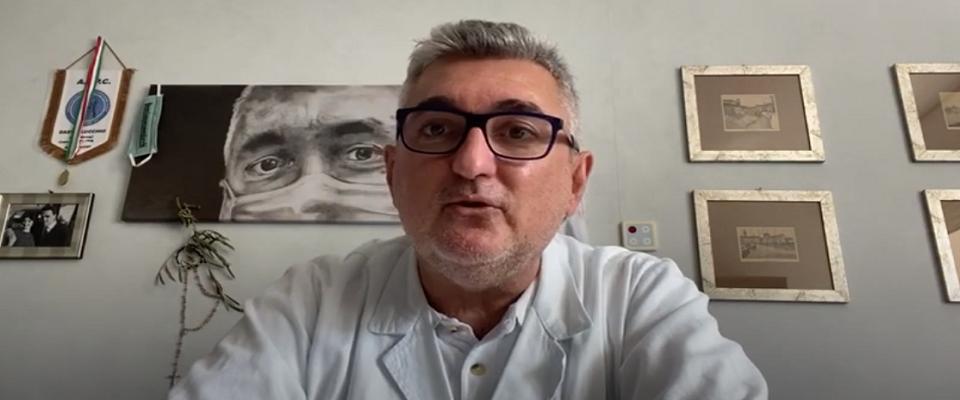 Giuseppe De Donno frame da video Youtube