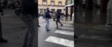 Immigrato violento a Savona frame da video Youtube