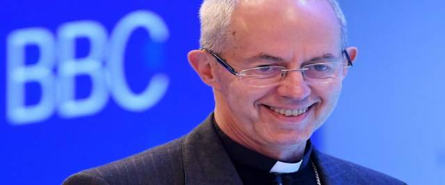 justin welby arcivescovo