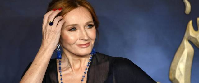 JK Rowling foto Ansa