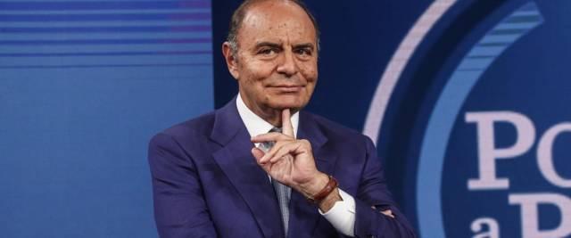 Il giormalista e conduttore televisivo Bruno Vespa lapidario sugli Stati Generali e su Conte foto Ansa