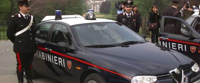 carabinieri foto Ansa