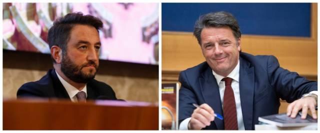 BeFunky-collage con foto Ansa di Cancelleri (a sinistra) e Renzi