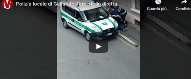 arresto a Gallarate