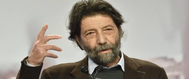 Massimo Cacciari a Cartabianca foto Ansa
