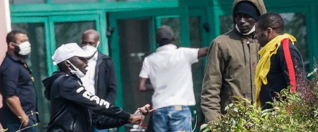 secoloditalia migranti contagiosi in Calabria foto Ansa