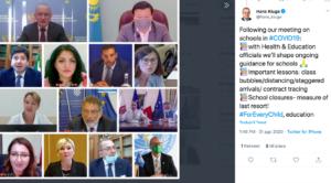Scuola E Disastro Speranza Lezioni Online In Caso Di Aule Piccole L Oms Dirama Le Direttive Secolo D Italia