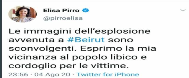 Pirro tweet