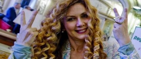 Eleonora Brigliadori foto Ansa