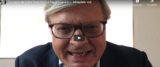video di Sgarbi su Youtube condiviso su Twitter