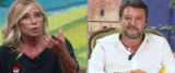 Imboscata della De Gregorio a Salvini a DiMartedì foto dalla paginaFacebook del programma