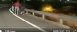 Migranti fuggono da Siculiana video dal Tw di RadioSavana