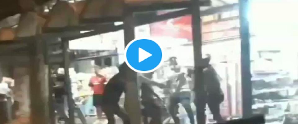 Rissa tra clandestini del Bangladesh e africani a Rimini video e foto dal Twitter di RadioSavana