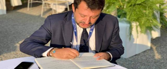 Salvini lettera