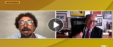 Toninelli umiliato in tv frame da video della pagina Facebook di Coffe Break