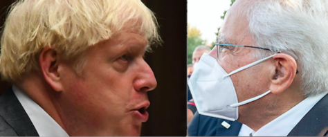 Mattarella vs Johnson