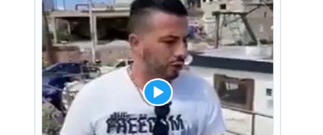 Migranti, cittadino di Lampedusa si trova una denuncia frame da video su Twitter di RadioSavana