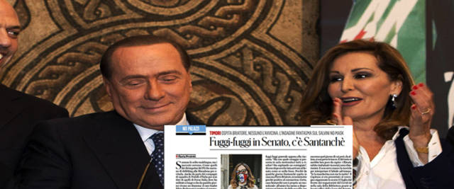 Berlusconi e Santanché