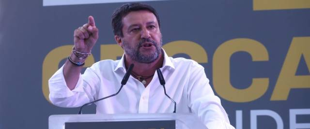 Salvini alla prova del voto foto Ansa