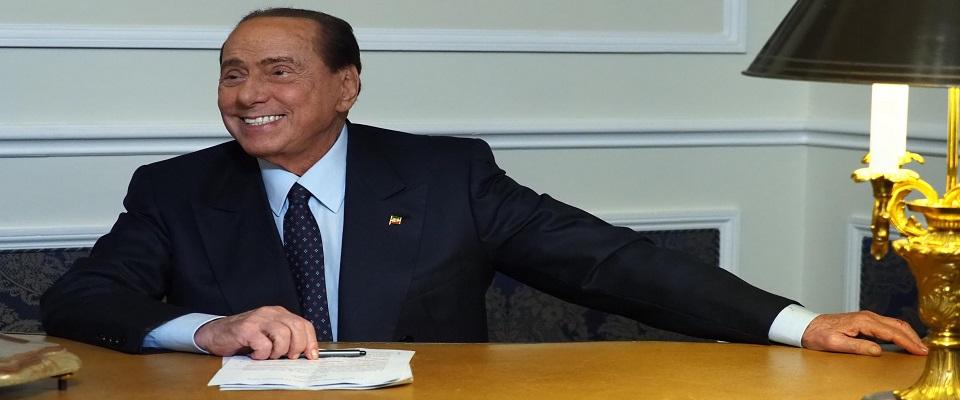 Il leader di Forza Italia Silvio Berlusconi foto Ansa