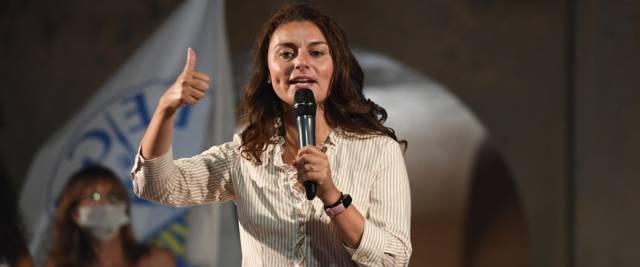 Susanna Ceccardi foto Ansa