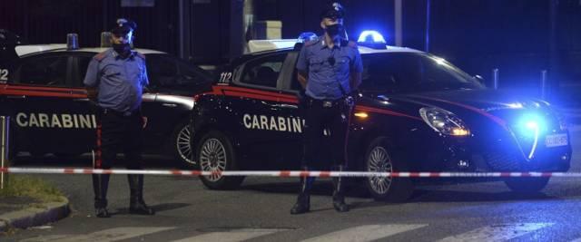 Carabinieri ghanese sequestra e stupra un'italiana a Orte foto Ansa