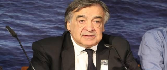 Il sindaco Leoluca Orlando foto Ansa