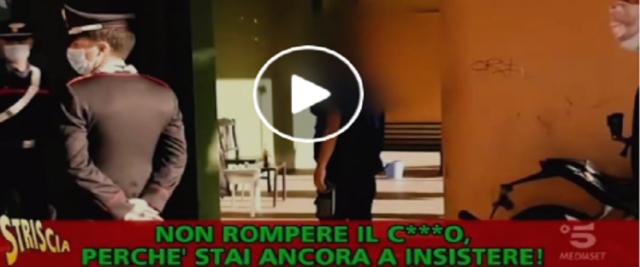 Brumotti aggredito dai pusher di Tor Bella Monaca foto e video dalla pagina Fb di Salvini