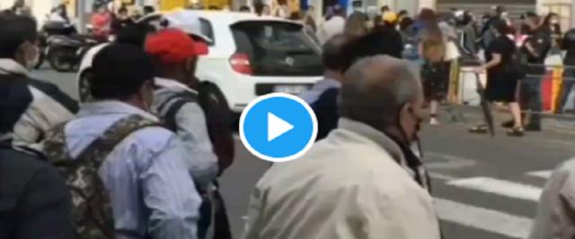 Dl sicurezza e migranti video da Twitter di RadioSavana