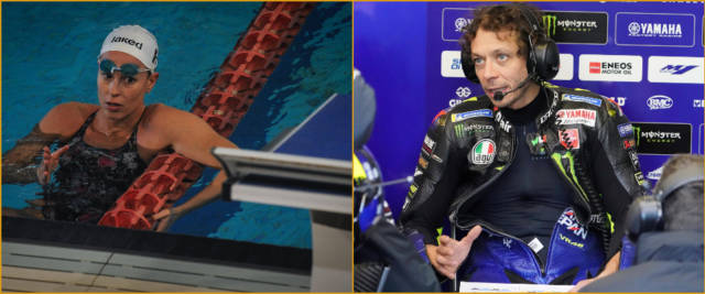 Federica Pellegrini Valentino Rossi