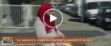 Norme anti-Covid e immigrati frame e video postato dalla pagina Fb di Salvini