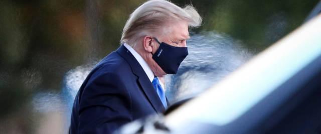 Trump ricoverato
